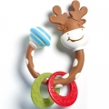 TINY LOVE SMARTS TEETHER-RATTLE MOOSE