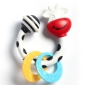 TINY LOVE SMARTS TEETHER-RATTLE COW