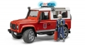 Bruder Fire Land Rover Defender
