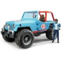 Bruder Jeep Wrangler Blue Team