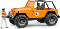Bruder Jeep Wrangler Orange Team
