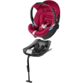 Cybex Aton CBX turvahäll Crunchy Red + Isofix alus