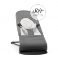 BabyBjörn lamamistool Soft Dark Grey jersey