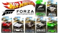 Hot Wheels Forza 2017 sari 7tk.