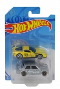 Hot Wheels Corvette C6 & ´71 Datsun Bluebird 510