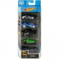 Hot Wheels Batman mudelid 5tk.
