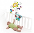 Fisher Price Deluxe Crib-to-Floor voodikarussell